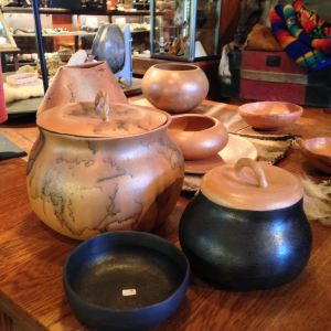 micaceous cooking pots